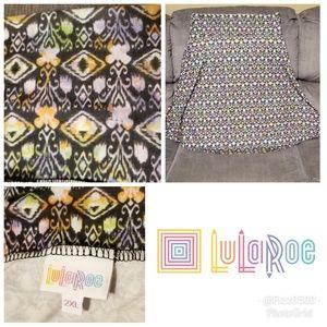 Lularoe plus size Azure skirt